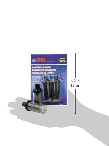Picture of Lee's Carbon Cartridge Bowl Filters, Disposable, 2-Pack
