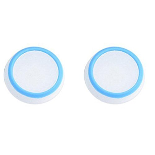 s Silicone Rubber Thumb Stick Caps For Nintendo Switch Joy-Con Controller Joystick Grips Protector Game Accessories (E) ()