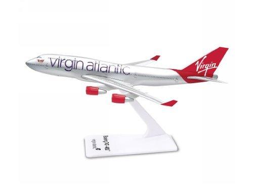 Premier Planes SM74715WB Virgin Atlantic Boeing 747-400 1:250 clip-together model