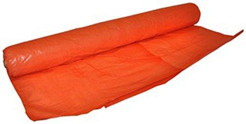Dry Top 77100 7 x 100 Orange Irrigation Dam Roll, 7' x 100',