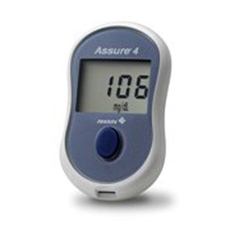 Hypoguard Assure 4 Blood Glucose Monitoring System - Blood Glucose Meter - Model 560001 - Each