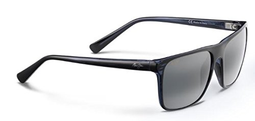 Maui Jim Flat Island Polarized Sunglasses Blue Stripe / Neutral Grey One - Island Sunglasses