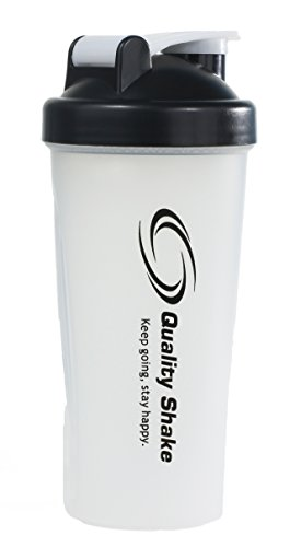 Quality Shake Clear Black Classic Loop Top with Stainless Ball Drink Mixer Protein Shake Sport Beverage Shaker Bottle 700ml price