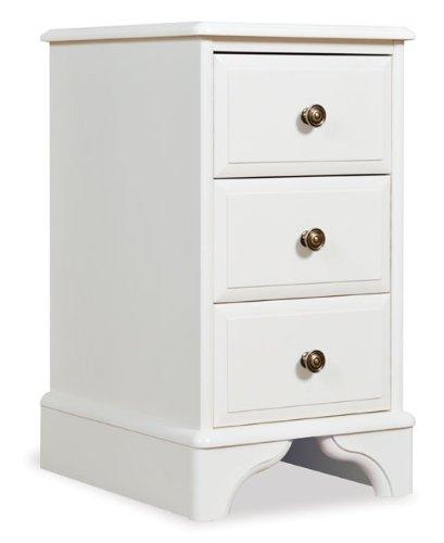 Oxford Gestrichene Möbel mit 3 Schubladen, Nachttisch