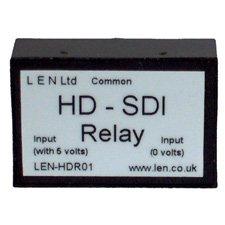 Stereo Audio Passive Switcher (LEN HDR01 Passive HD-SDI Single Channel HD Relay-by-LEN)