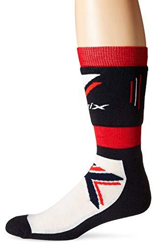 - Swix Nordic Midweight Ski Socks, Norway Colors, EU Size 46-48