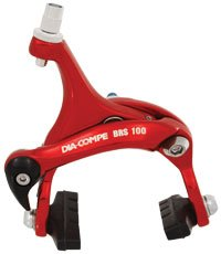 Dia Compe Road Brake (DIA-COMPE BRS-100 39-49MM REAR RED BRAKE ROAD)