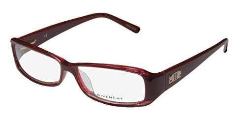 Givenchy Vgv622 Womens/Ladies Designer Full-rim Flexible Hinges Eyeglasses/Glasses (55-13-135, Merlot / - Frames Givenchy