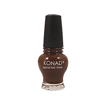Image Unavailable. Image not available for. Color: Konad Special Polish Princess Chocolate
