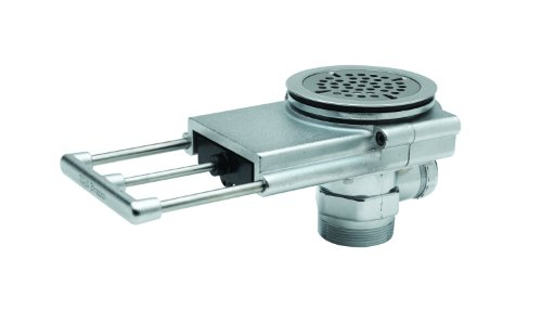 T&S Brass B-3992 Modular Waste Drain, 3-1/2-Inch Sink Opening, 2-Inch NPT Male / 1-1/2-Inch Female Outlet by T&S Brass