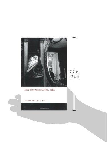 933b0511d2c Late Victorian Gothic Tales (Oxford World s Classics)  Amazon.co.uk  Roger  Luckhurst  9780199538874  Books