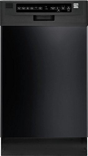 Kenmore 14669 18″ Built-In Dishwasher, Black