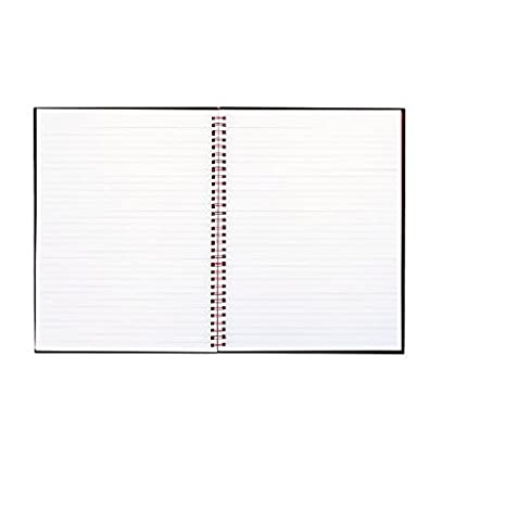 graphic relating to Printable Notebooks identify Black N Pink - 2 Pack - Twinwire Hardcover Laptop computer Prison Rule 8-1/2 X 11 White 70 Sheets \