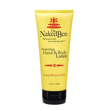 The Naked Bee Moisturizing Hand & Body Lotion ( Chai Tea ) Body Gels And Creams