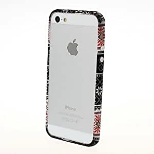 GHK - Leopard Print Plastic Frame Hard Case for iPhone 5/5S (Multiple styles) , 10