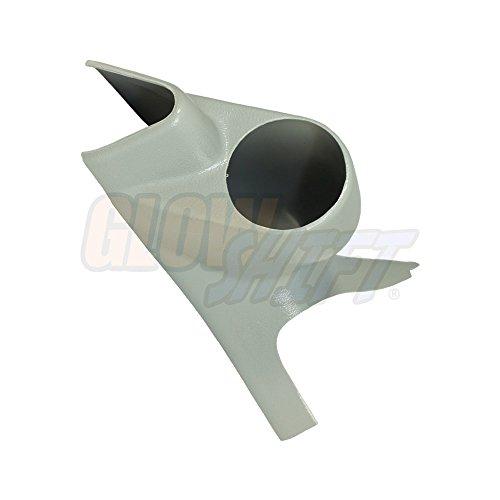52 Single (1999-2002 Ford Super Duty Power Stroke 52mm Gray Single Pillar Gauge Pod)