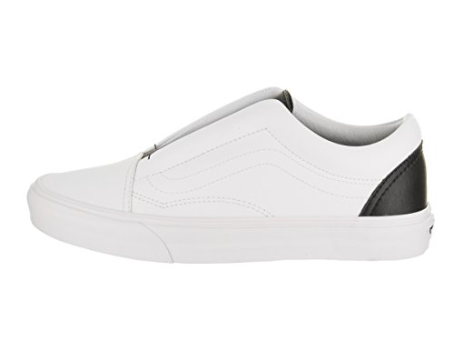 Vans Unisex Old Skool Laceless (Classic Tumble) Skate Shoe Tr Wht/Blk fashionable online lowest price for sale outlet where can you find discount latest QUBmZ2