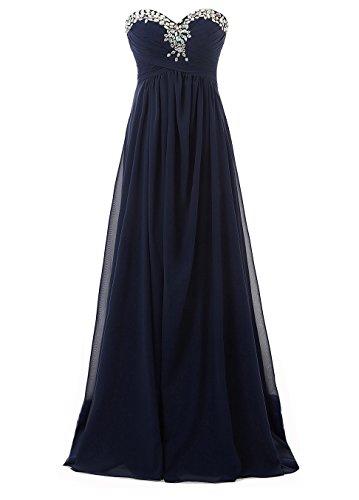 Kmformals Damen Lang Prom Abend Brautjungfer Kleider Formales ...