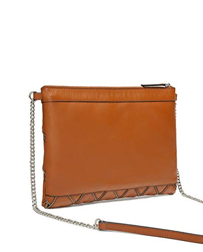 Zara with zip clutch Leather 5342 details Women 304 aaSqzWw6r