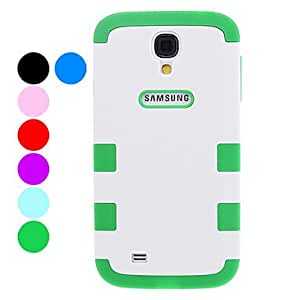 Detachable Protective Soft TPU Colorful Case for Samsung Galaxy S4 I9500 (Assorted Colors) , Purple