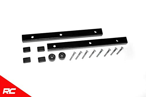Rough Country Transfer Case Drop Kit Compatible w/ 2003-2006 Jeep Wrangler TJ Reducing Steering Vibration 1669TC ()