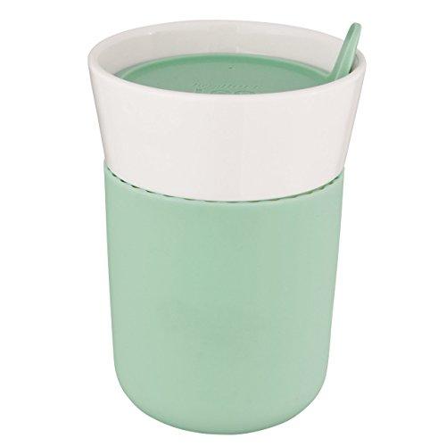 - Berghoff Leo Porcelain Travel Mug 11.16oz, Green