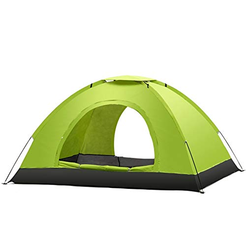 Instant Automatic pop up Tent, 2 Person Lightweight Tent,Waterproof Windproof, UV Protection, Perfect for Beach, Outdoor, Traveling,Hiking,Camping, Hunting, Fishing (Color : Green)