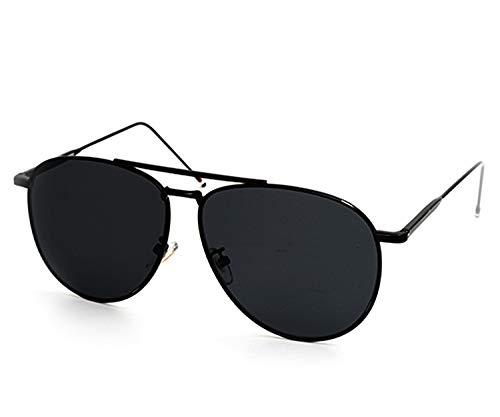 O2 Eyewear 97025 Premium Oversized Flat Aviator Mirrored Sunglass Womens Mens (PREMIUM FLAT, SOLID BLACK)
