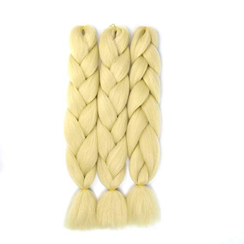 Synthetic Braiding Extensions Temperature Blonde product image