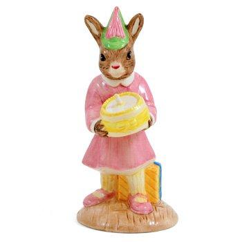 Figurine Royal Birthday Doulton (BIRTHDAY GIRL DB290 - Royal Doulton Bunnykins)