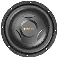 Infinity REF1000S 800W 10 Reference Series Shallow Mount Single Voice Coil Selectable Smart Impedancea,, Car Subwoofer