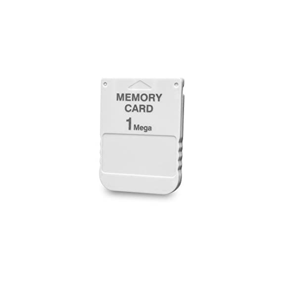 Tomee 1MB Memory Card for PS1 3 1MB memory block compatible with PSone/PS Work with PS2 for PS1 games