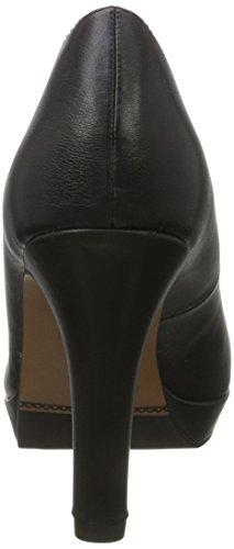 s.Oliver 22400, Zapatos de Tacón para Mujer Negro (Black Nappa 22)