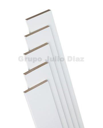 tapeta puerta blanca , moldura para puerta de 7 cm de ancho x 1 cm de grosor ...