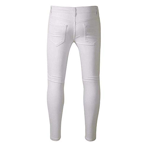 Nero Abiti Jeans Vintage Pants Stretch Fit Uomo Jogging Da Summer Bianca Taglie Slim Skinny Con Comode Destroyed Pantaloni Chern wqHS1Iqn