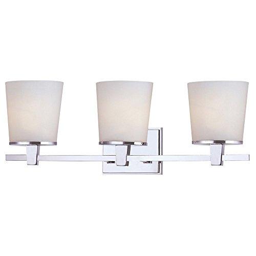 Dolan Designs 3783 26 Ellipse 3 Light Bathroom Fixture, Chrome High Quality