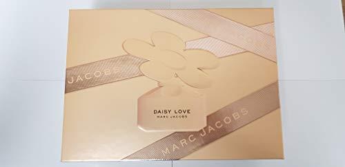 Chloe Marc Jacobs Daisy Love for Women 3 Pieces Hardbox Set (1.7 Ounce Eau De Toilette Spray + 2.5 Ounce Body Lotion + 2.5 Ounce Shower Gel) ()