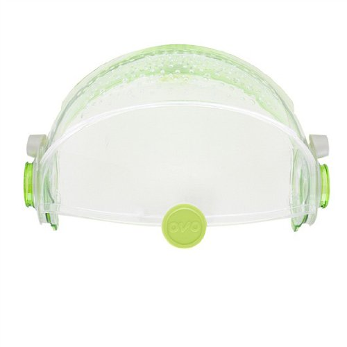 Habitrail OVO Retractable Roof for Dwarf Hamster Habitat, Clear Lime Green (Habitrail Parts)