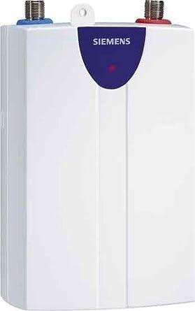 Siemens DH06101 Vertical Sin depósito (instantánea) Color blanco calentadory - Hervidor de agua (