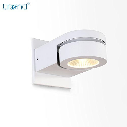 TREND Led Wall Sconce Light, Dimmable Track Black Spot Light Adjustable for Reading Living Room Staircase Coffee Office and Commercial (Trend Beam)