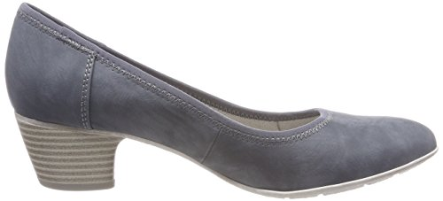 s.Oliver Damen 22301 Pumps Blau (Denim)
