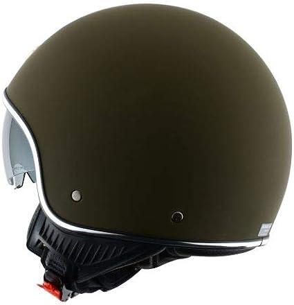 Casque de moto en polycarbonate Casque jet vintage matt black XS Astone Helmets Minijet 66 Casque style r/étro US