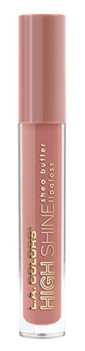 L.A. Colors High Shine Shea Butter Lip Gloss, Sensual, 0.14 Ounce High Shine Lip Color