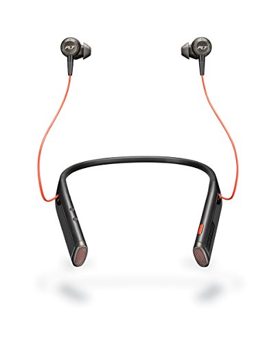 Plantronics Voyager 6200 UC Business-Ready Bluetooth Neckband Headset with Earbuds