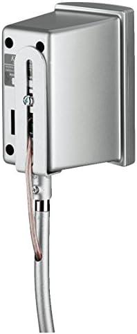 Hama 'Slim' Speaker Stand Silver