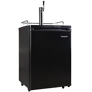 EdgeStar Full Size Kegerator with Digital Display - Black