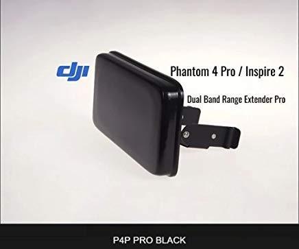 ITELITE DRONE RANGE EXTENDER FOR DJI Phantom 4 Pro/Inspire 2 Black Shockwave Duo (Best Range Extender For Phantom 4)