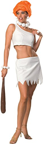 [Secret Wishes Women's The Flintstones Sassy Adult Wilma Flintstone Costume, Multicolor, X-Small] (Wilma Costume)