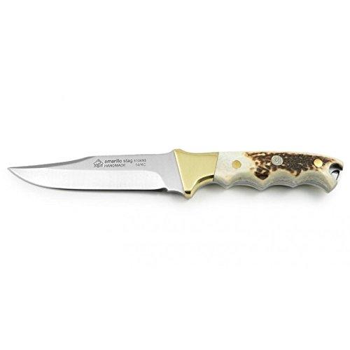 Puma Knives IP Amarillo Stag Fixed Blade Knives