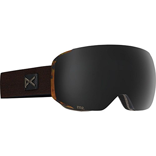 Anon M2 Snow Goggles Sheldon Brown Tortoise With Dark Smoke & Blue Lagoon Lens -  10775101976_Sheldon/Dark Smoke_One size